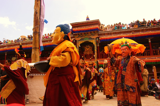 Lord Buddha followed by Guru Sambhavana