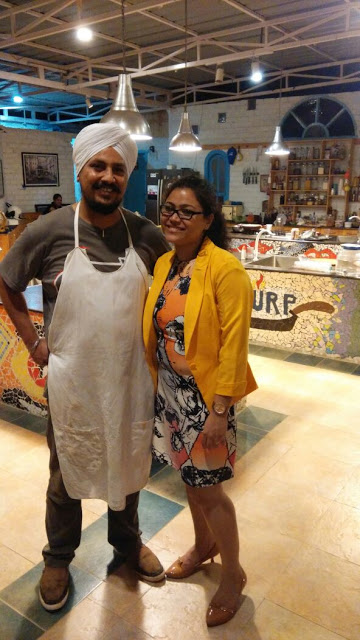 With Chef Sarabjeet