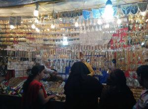 Women buying jewellery(Tilak Nagar)
