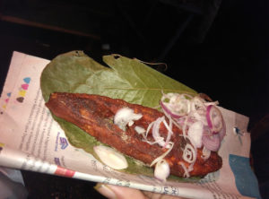 Fish Fry with diced onions(Tilak Nagar)