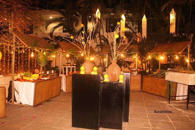 The outdoor decor (Le Jardin)
