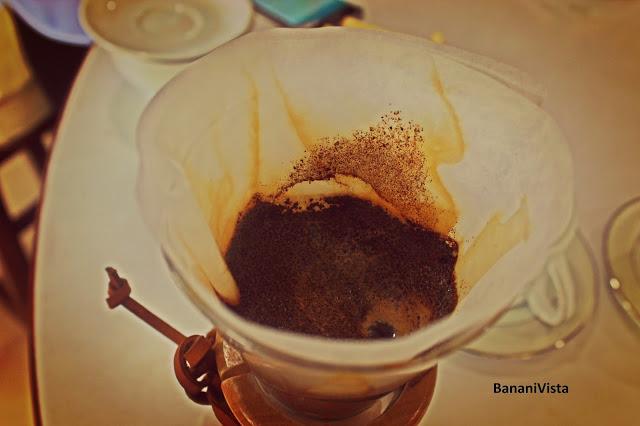Coffee powder brewing