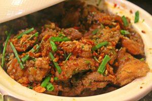 Kai Phad Priwaan (Chicken)