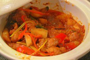Phad Pong Karee (Vegetables)