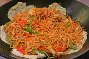 Noodles! Yummy!