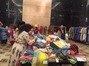 Handloom sarees and dress material