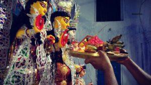 Offering to Goddess