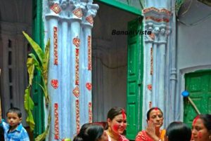 During the Sindoor Khela