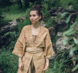 Khadi Cotton Kimono by Gaia