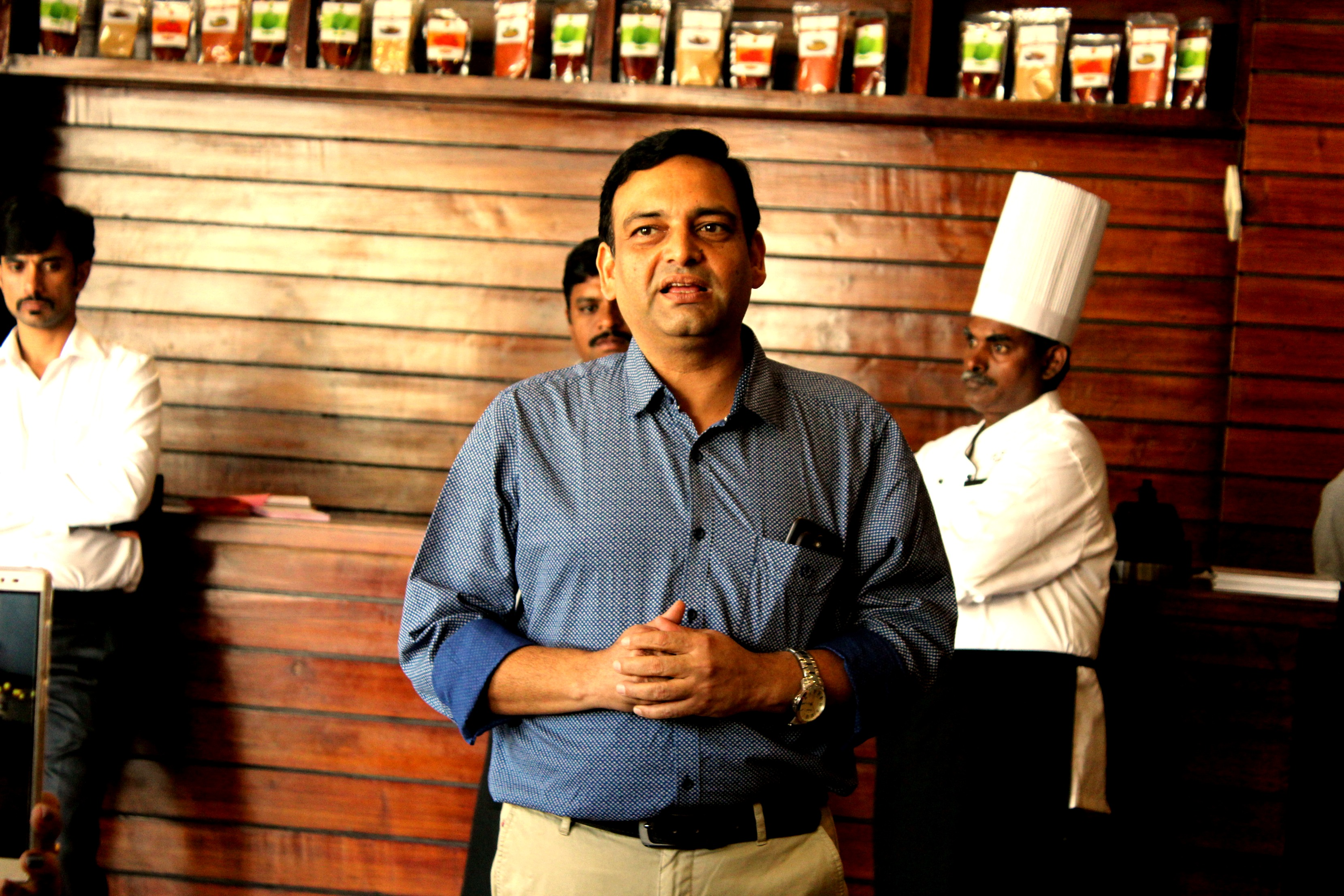 Chef Chaapathi Rao- The man behind Simply South.