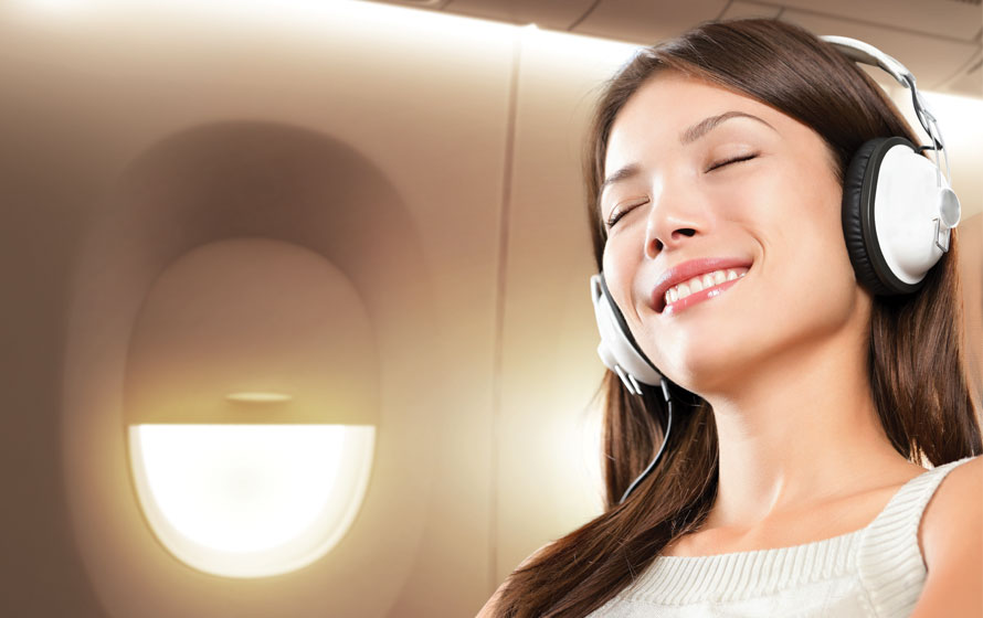 music in flights