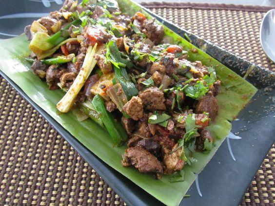 Smoked Pork with Anishi (Nagaland)