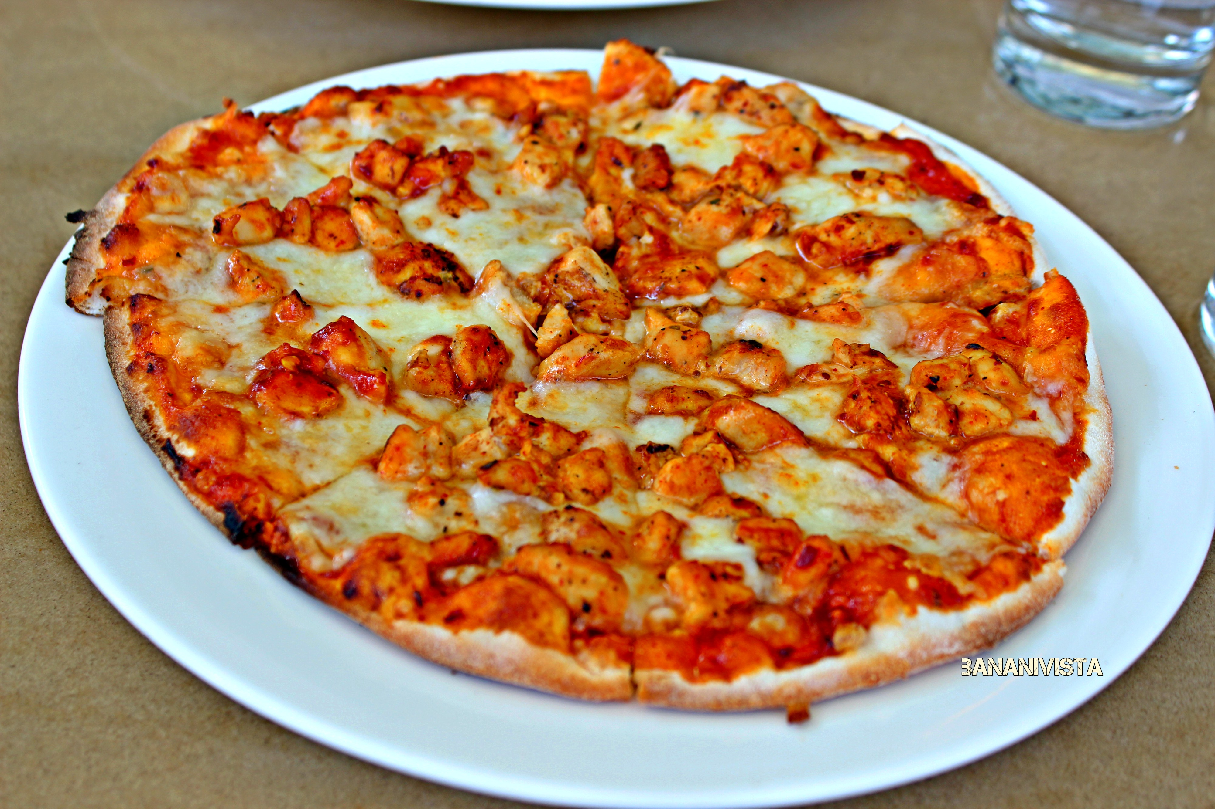The Barbeque Chicken Pizza