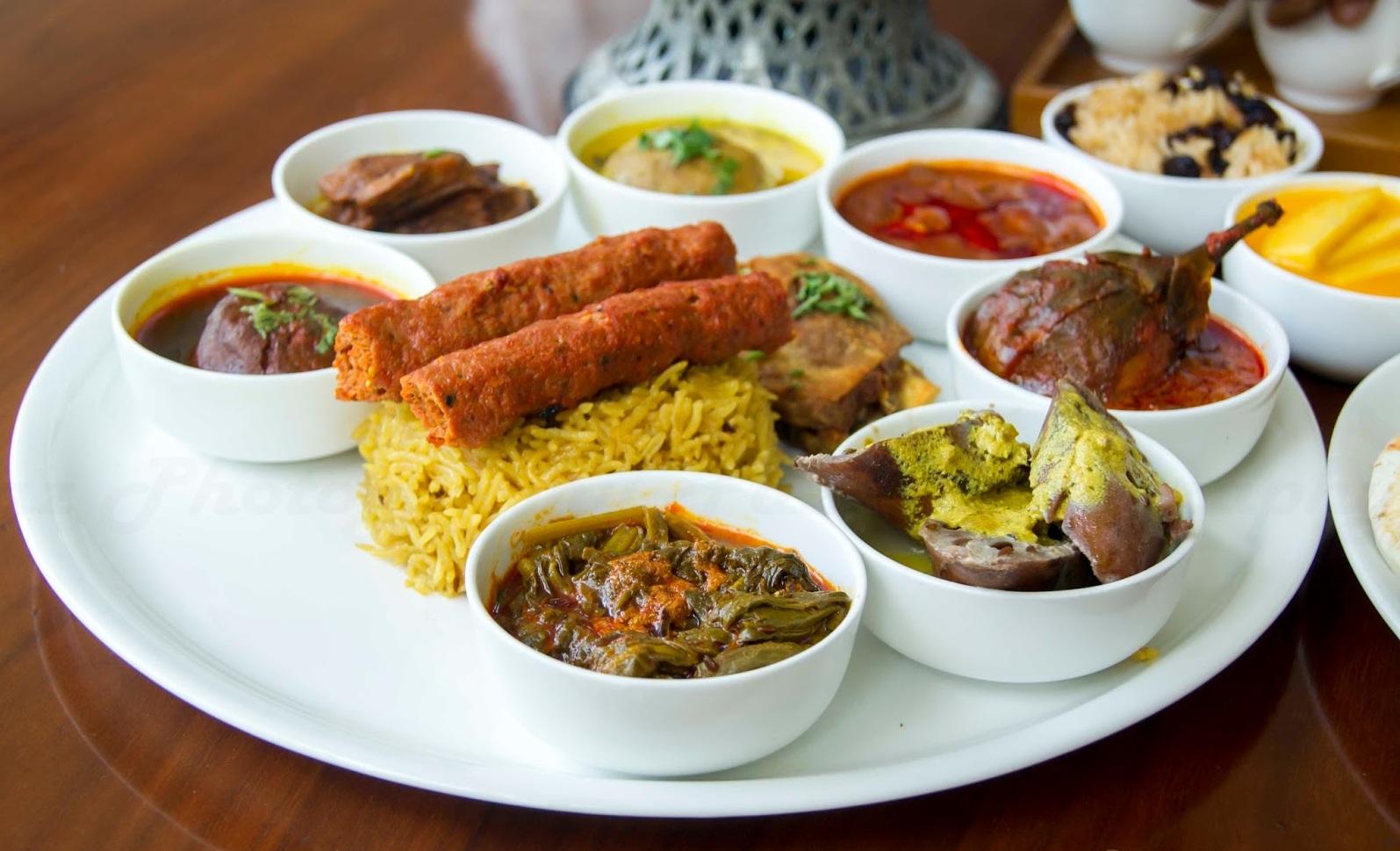 The ultimate Wazwan meals in a Traem