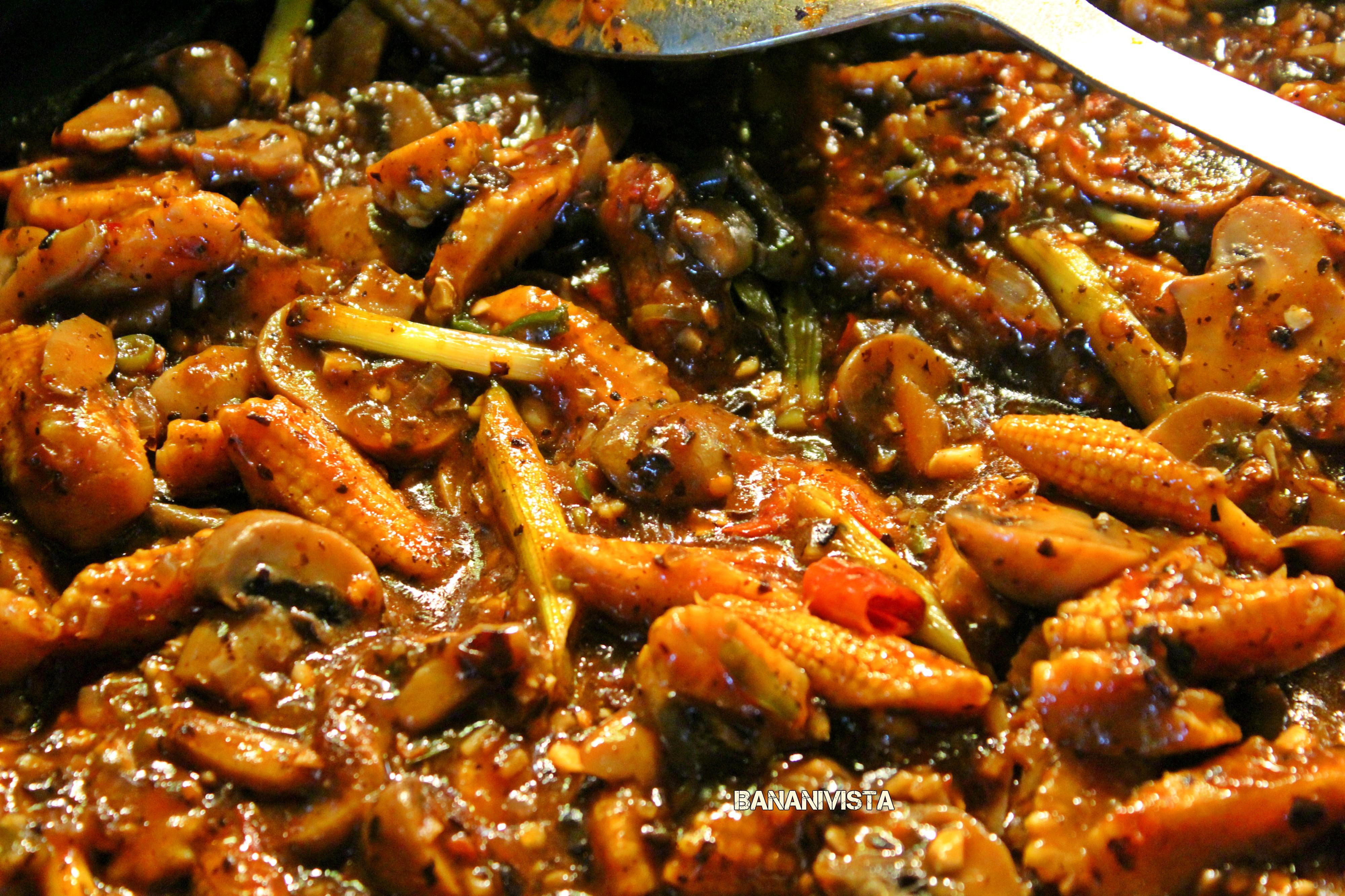 Mushroom Babycorn Oriental