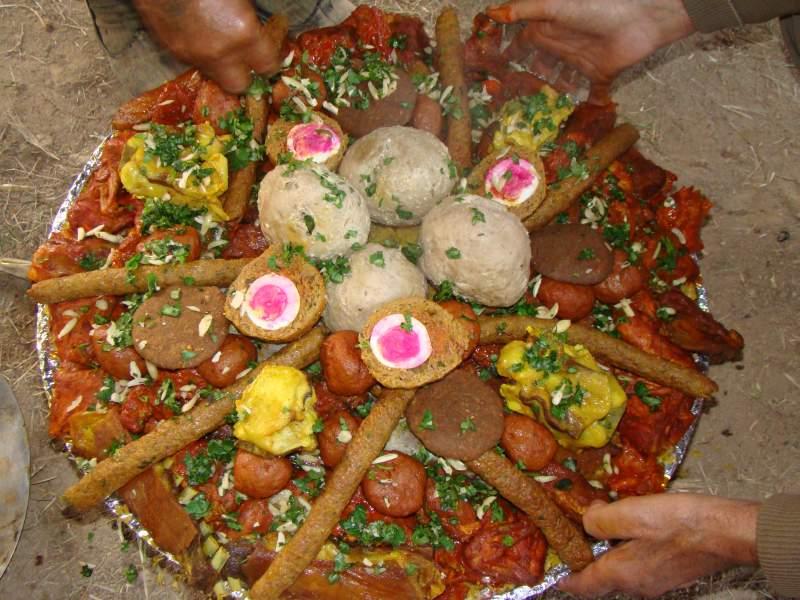 Wazwan meal served at weddings