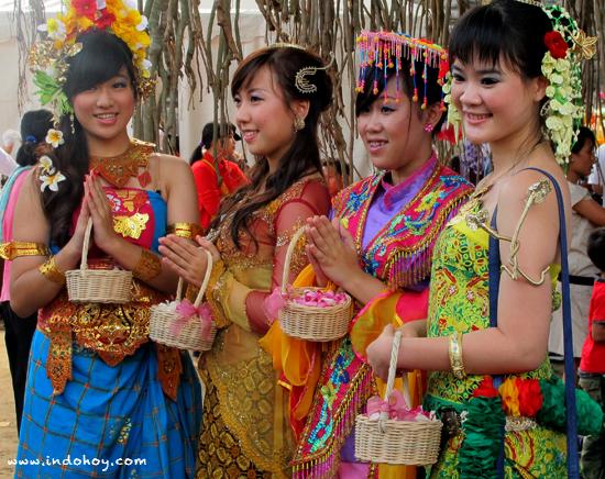 Celebration in Indonesia