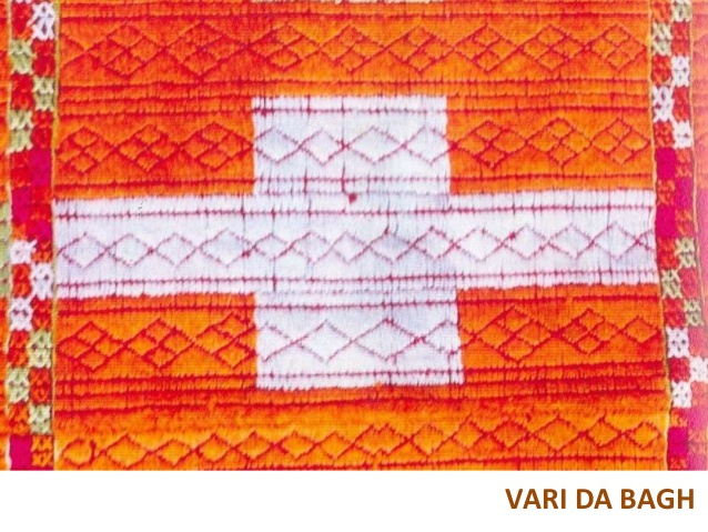 This is one of the earliest patterns of Phulkari