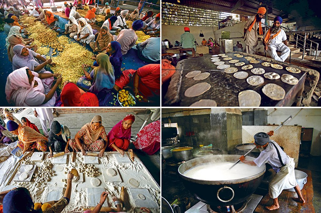 The ultimate Langar at the Golden Temple