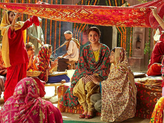 Anushka Sharma looking resplendent in traditional Phulkari work