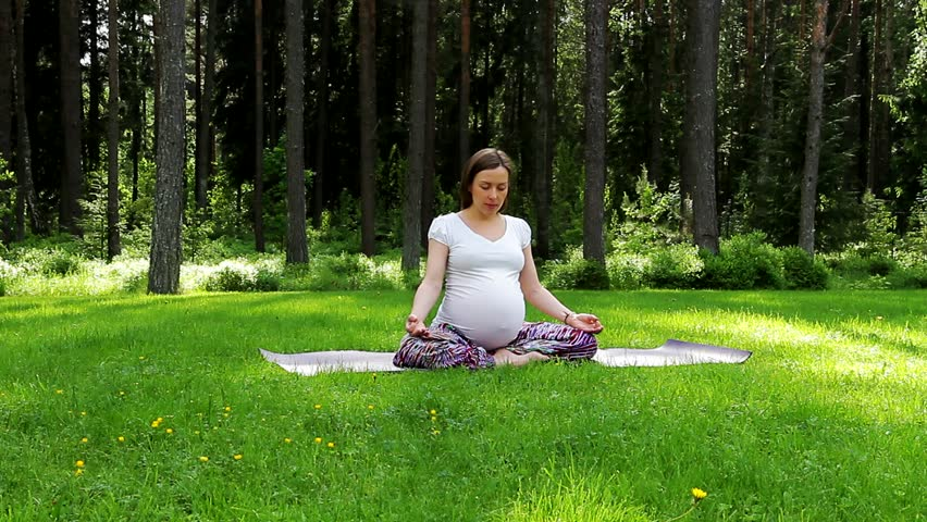 Do meditation during pregnancy