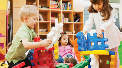 A daycare helps nurture your child