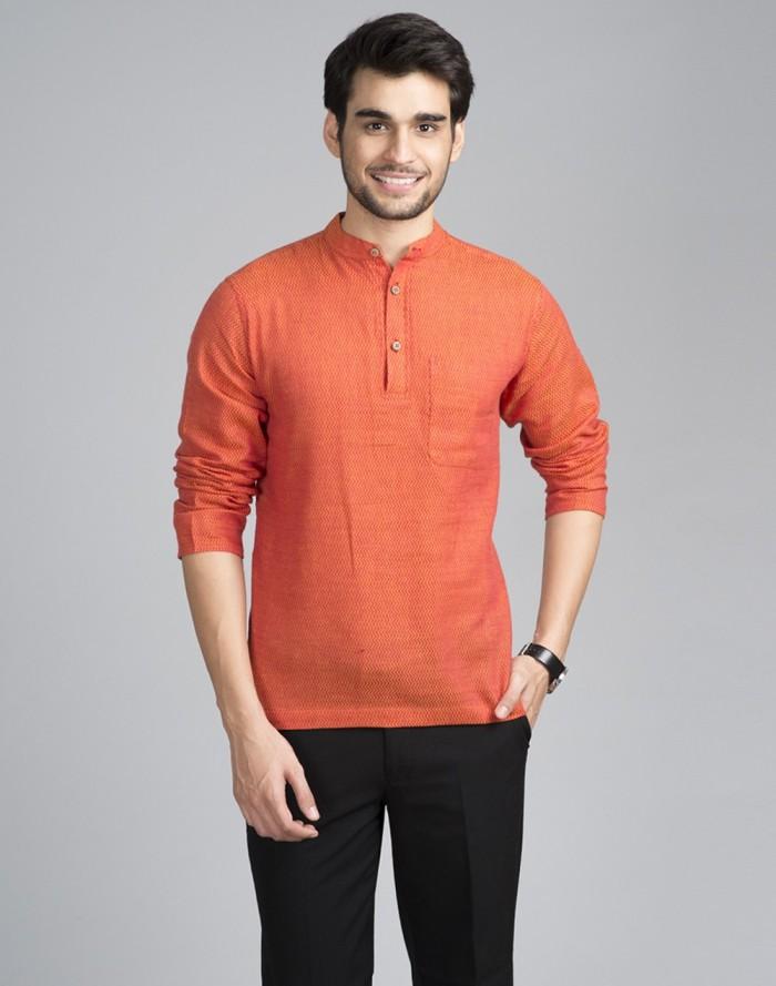 Short kurti with formal pants!