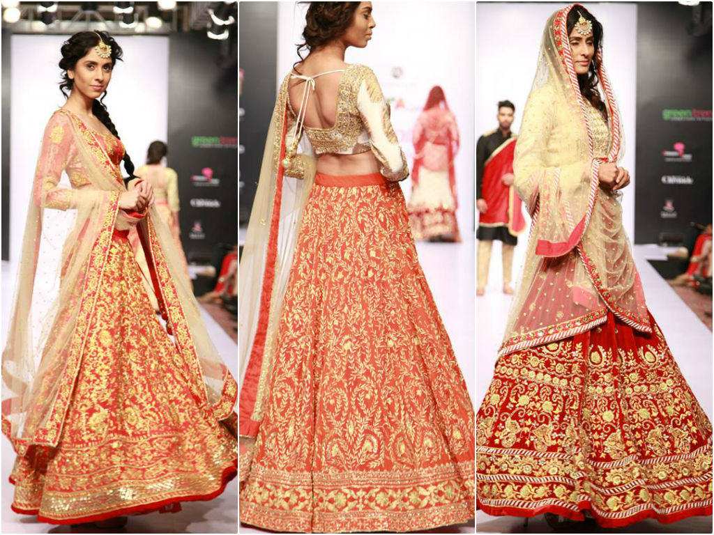 Go elanic with exclusive Lehengas Collection on your weddings & receptions