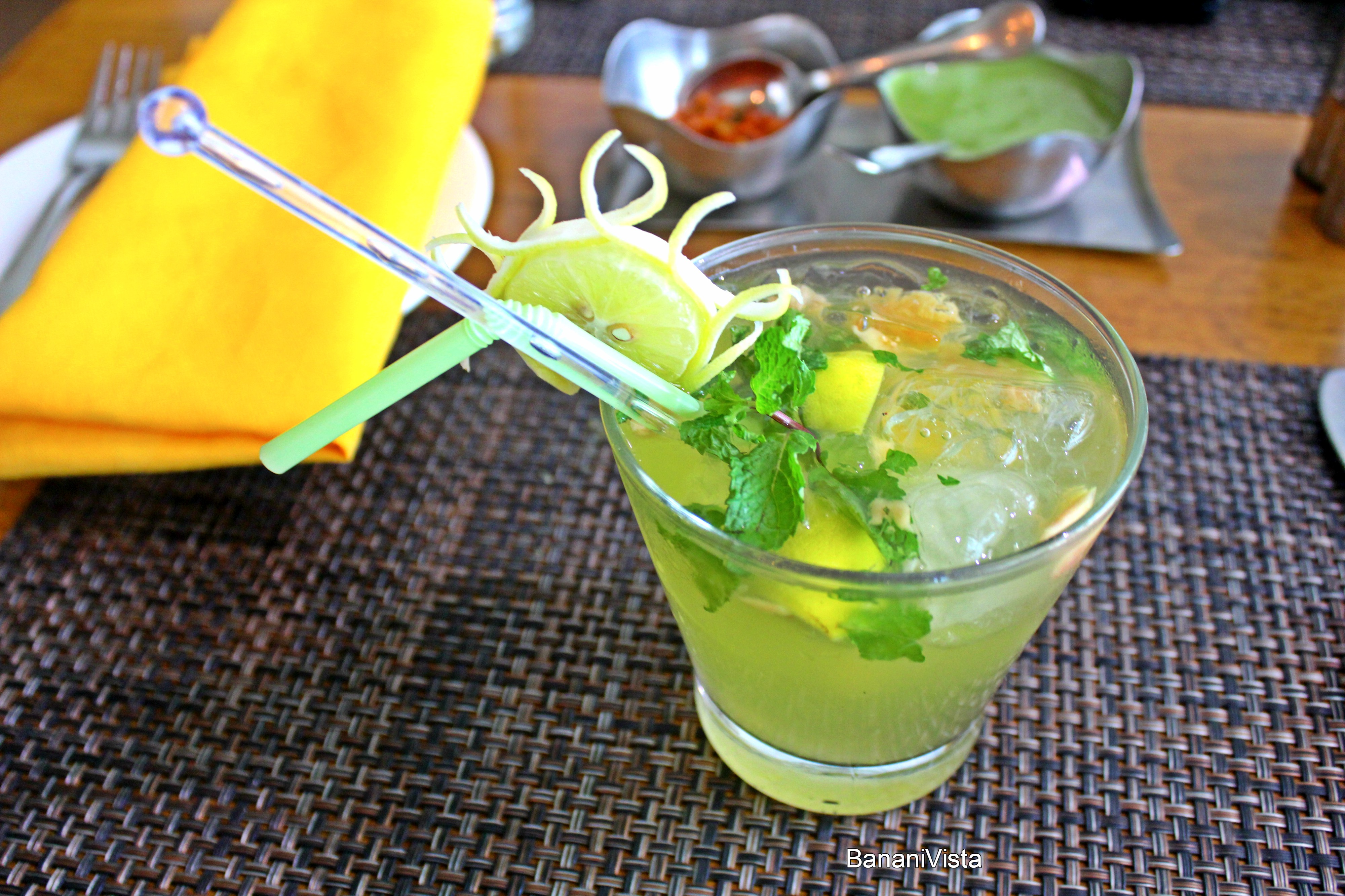 Ginger Mint Lemonade