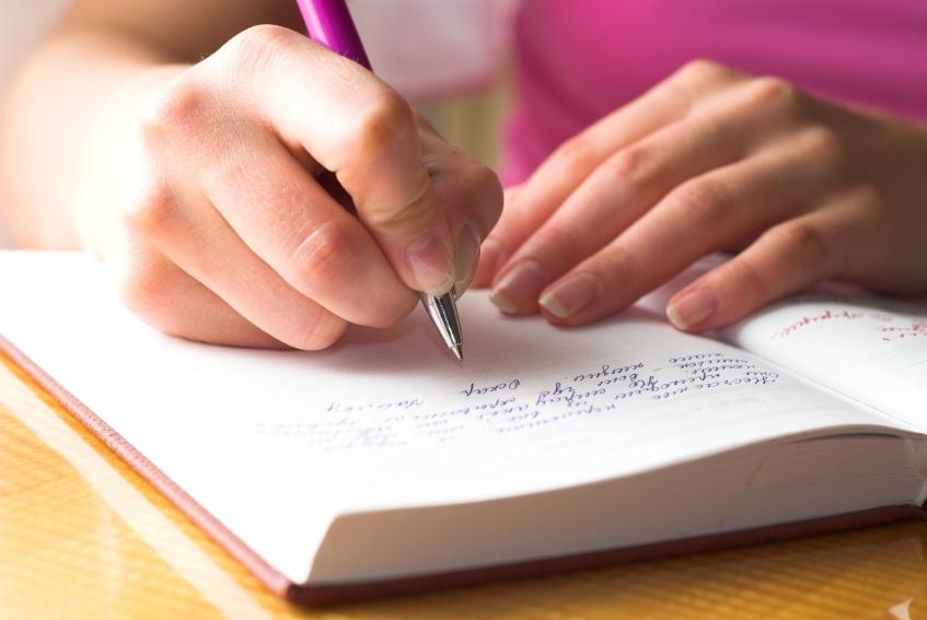 Always keep a journal.