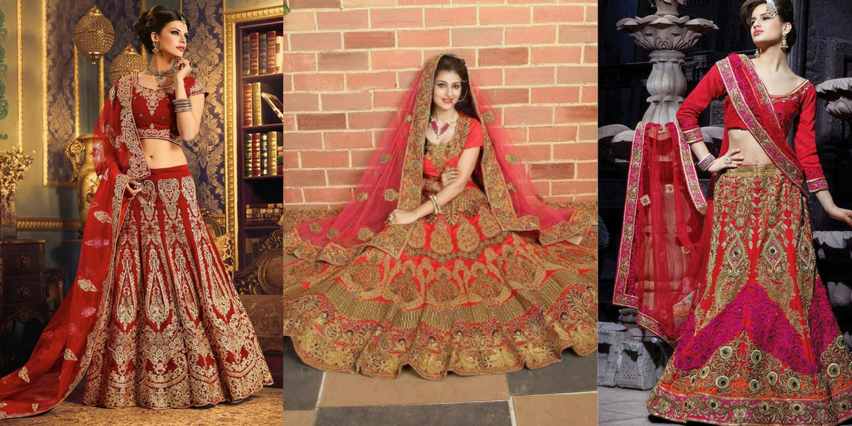 beautiful Bridal Lehengas online with their best prices!