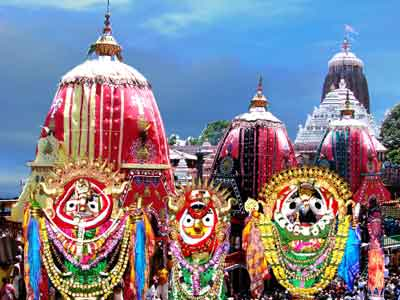 Rath Yatra is a major Hindu festival which sees the congregation of Hindus from all over the world.