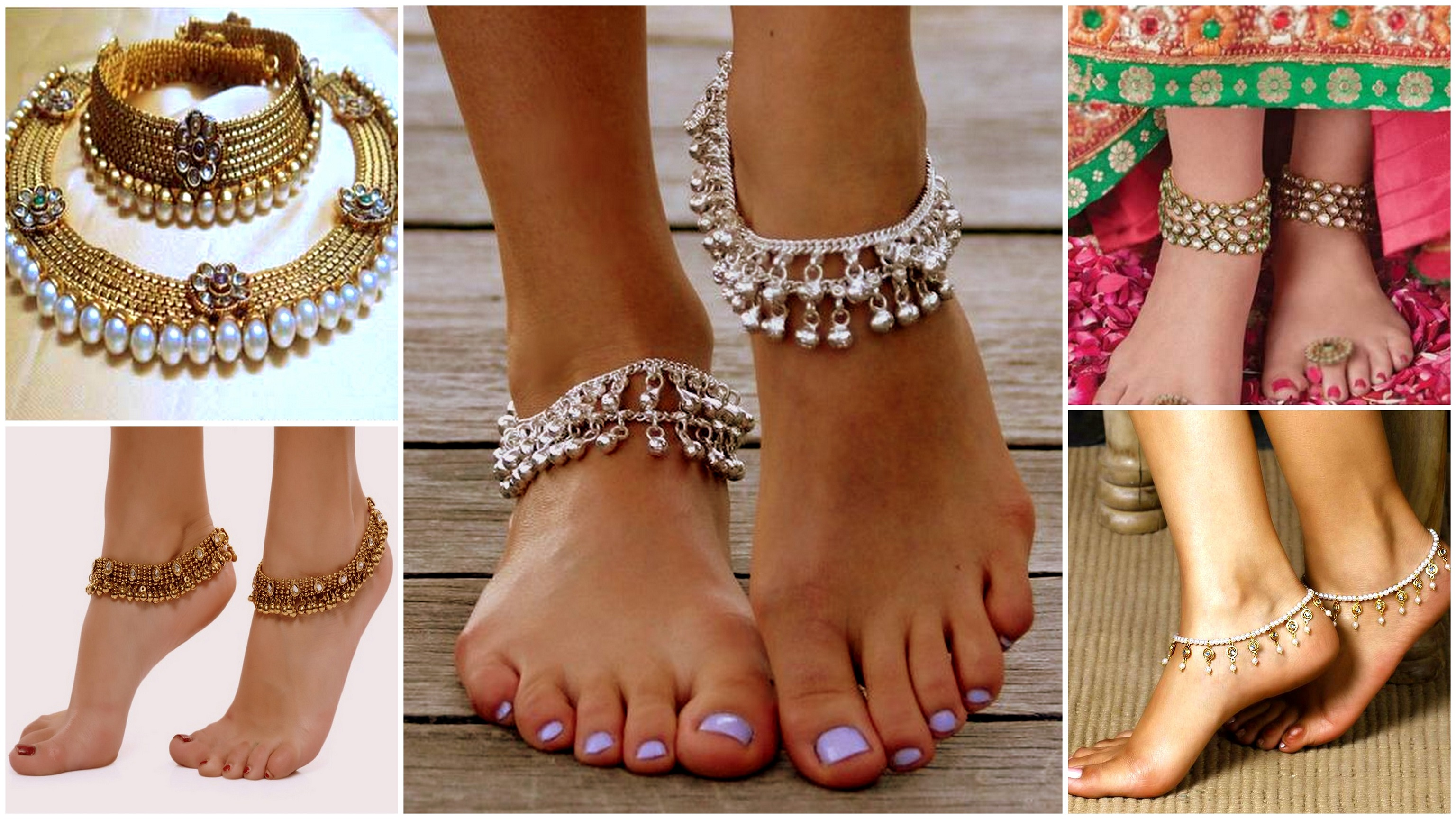 Anklets puts away the negative energy
