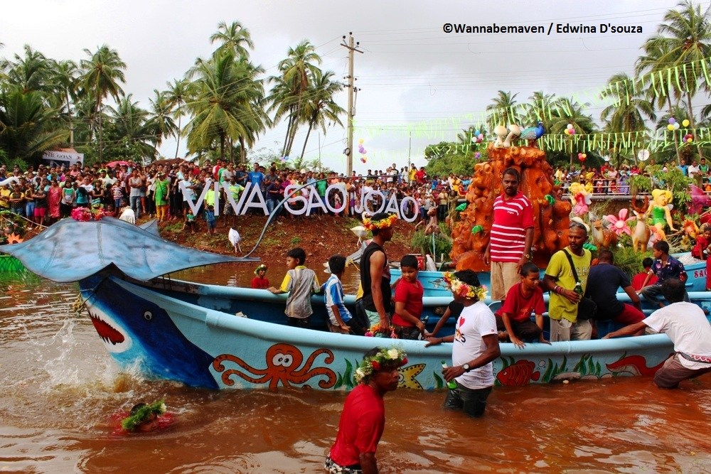 The Sao Joao Festival pays reverence to St. John