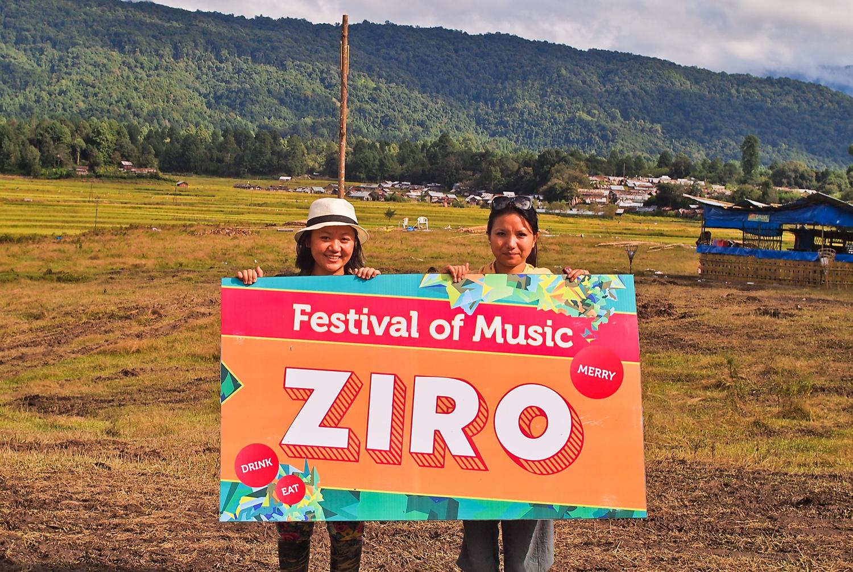 Ziro Music Festival.