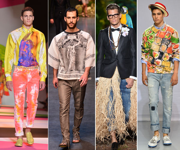 Men fashion is constantly evolving