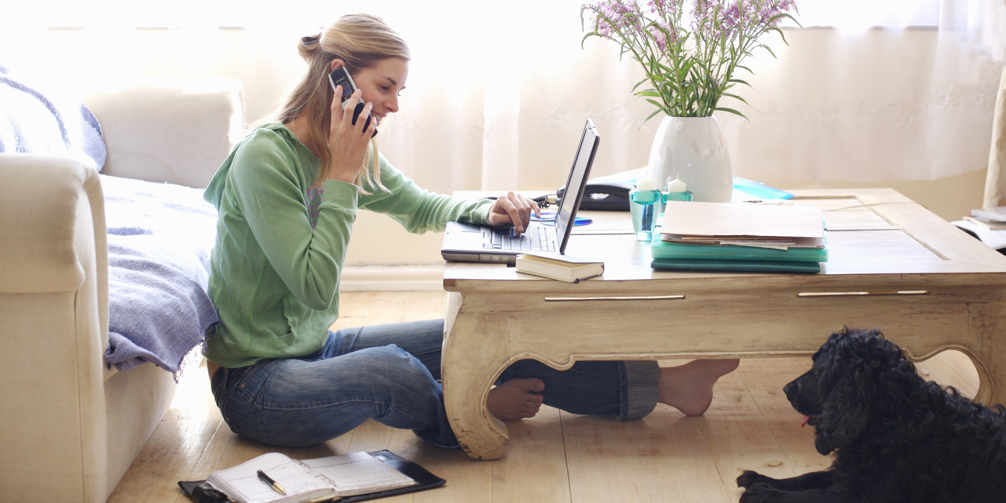 Do Not Sit Anywhere at Home to Work