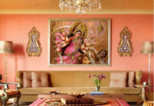 Durga Puja Home Decor Banani Vista