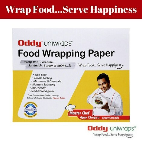 Oddy Uniwrap-Wrap Food, Serve Happiness