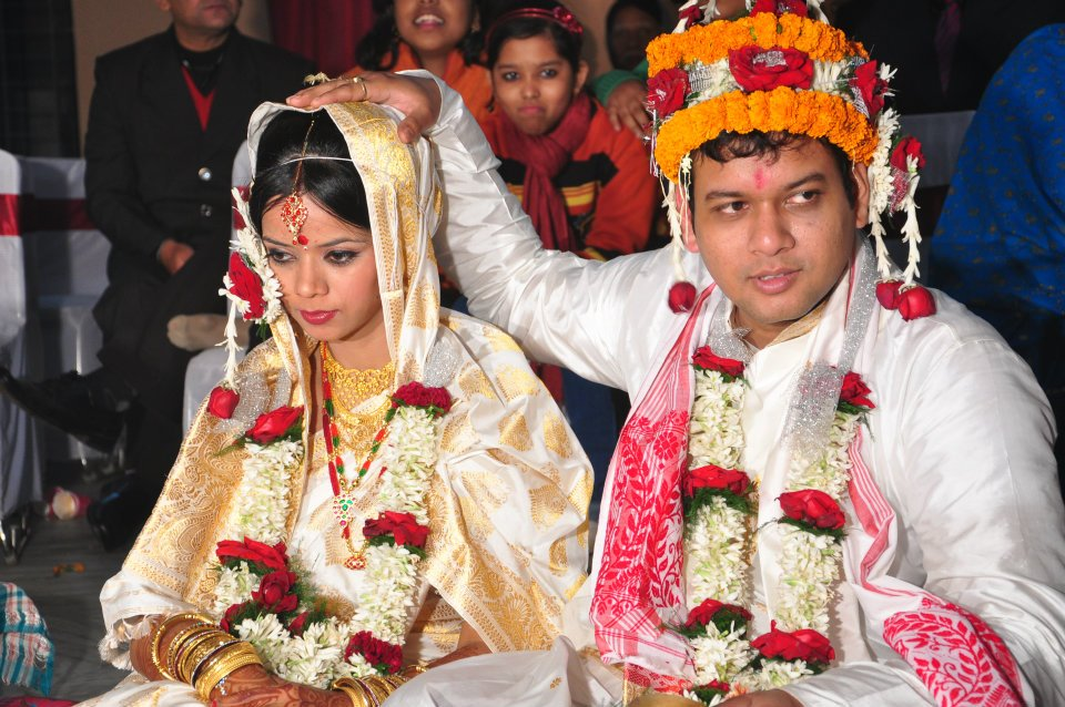Assamese weddings celebrate the Paat-Silk