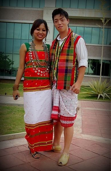 Tribal Brides from Tripura wear Risa and Rina