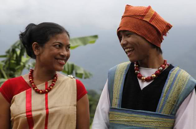 Traditional Dress of Meghalaya's Jaintia tribe