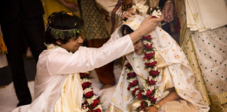 With each region, the wedding traditions and attires differ