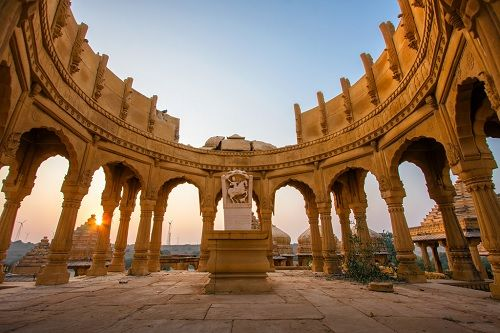 The rustic beauty of Jaisalmer is just perfect