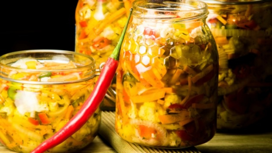 Pickles from the northeast are quite different from the usual ones