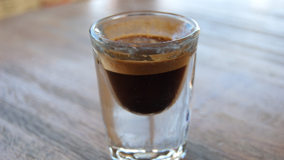 Ristretto is a single shot of Espresso with little water