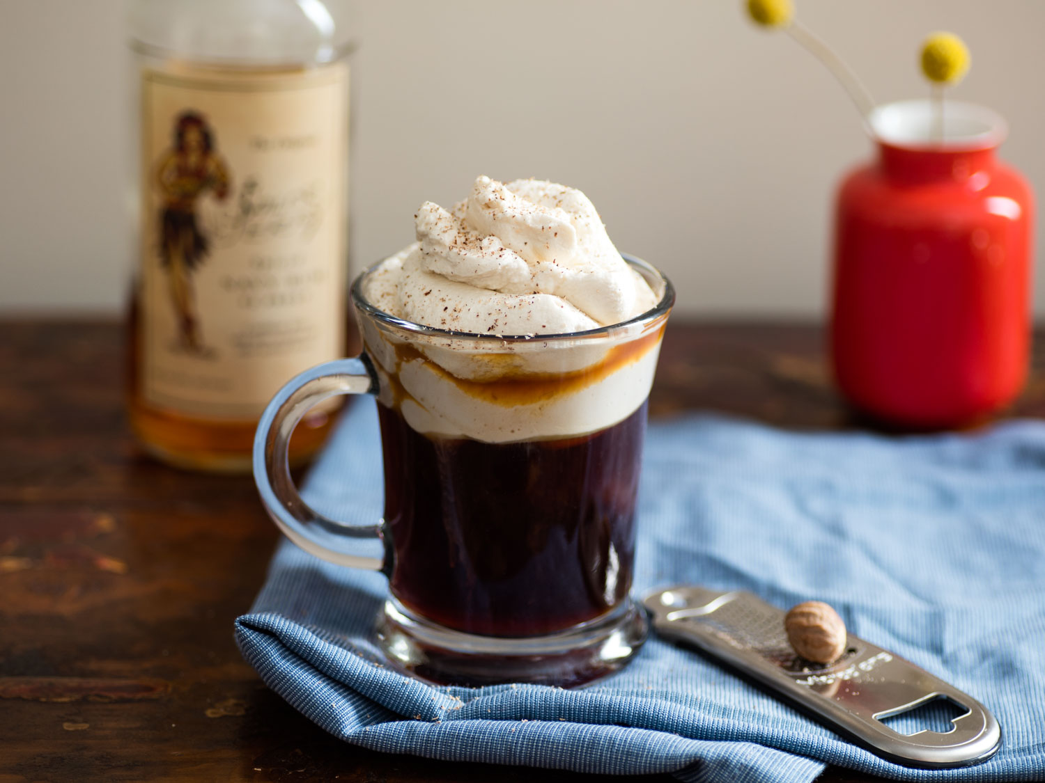 Whiskey adds a different dimension to the Irish Coffee