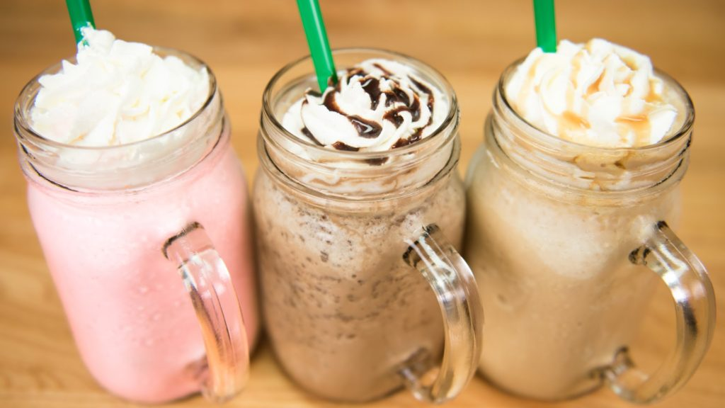 Frappuccino takes frappe to a whole new level