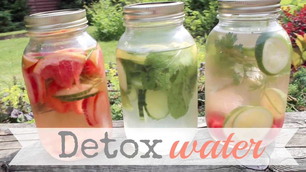how to start a detox water