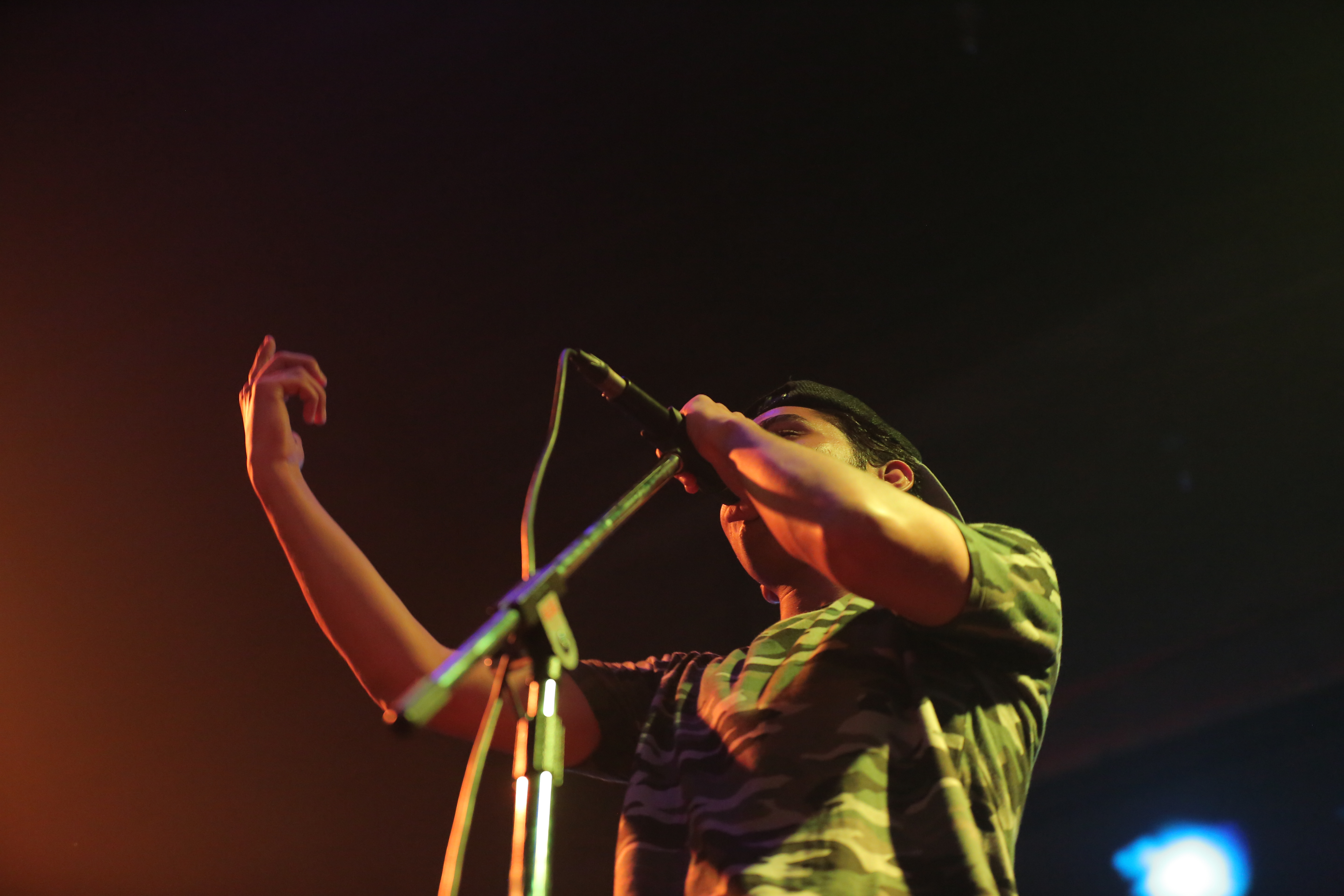 Performing in a concert, banani vista